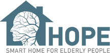 H O P E - SMART HOME FOR ELDERLY PEOPLE - HOME PAGE